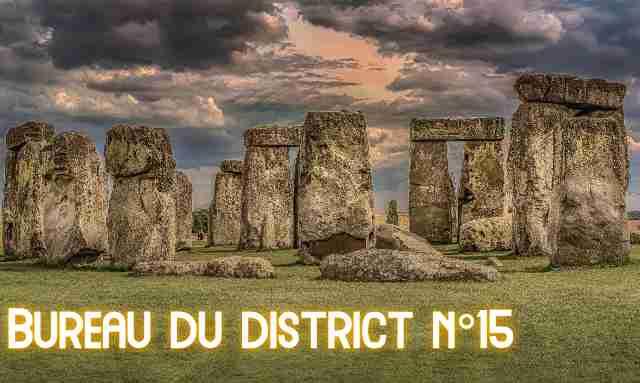 Bureau du district N°15